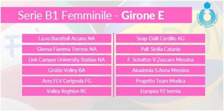 Volley B1, il girone della Seap Dalli Cardillo