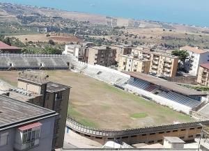 Lo stadio Esseneto oggi