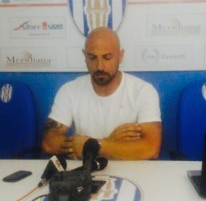 """Il tecnico del Francavilla, Calabro: """"contento della prestazione, dispiaciuto per il risultato"""""""