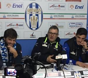 """Pezzella e Salvemini: """"Siamo felici. Vogliamo salvare l'Akragas"""""""