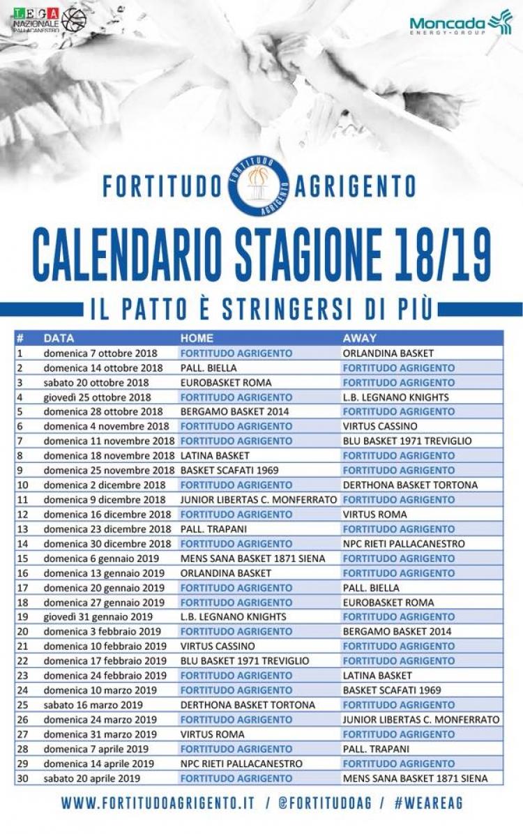 Fortitudo Moncada, il derby con Orlandina per iniziare.