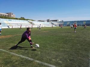 Akragas, Bramati si allena con il gruppo.