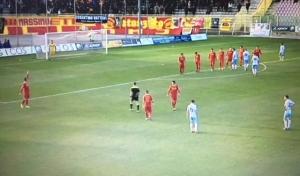 L'Akragas resiste 89 minuti. Il Catanzaro vince in extremis.