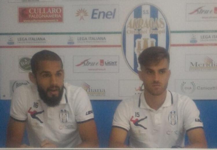 """Akragas; Cazè e Palmiero: """"Vogliamo vincere"""""""