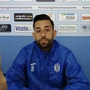 """Santangelo cerca il primo gol. """"Siamo determinati""""."""