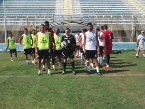 Akragas, allenamento col Canicattì. All'Esseneto tre gol.