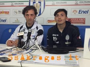 Dopo gara Akragas – Catania. I commenti