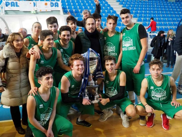 """Il """"Majorana"""" di Agrigento vince il Fortitudo School Cup"""