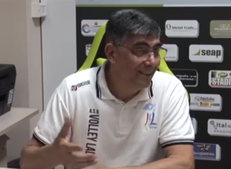 Mauro Scimia presidente Volley Ladispoli.