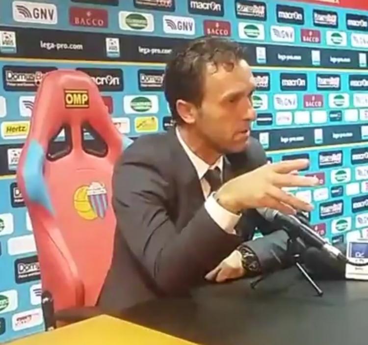 """Pino Rigoli: """"complimenti Akragas. Il Catania ha sbagliato tanto"""""""