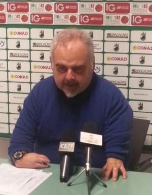 Coach Franco Ciani spiega la sconfitta di Reggio Calabria