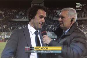 """Rigoli si gode il Catania. """"Orgoglioso di allenare questi ragazzi"""""""