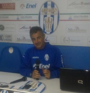 "Akragas, Di Napoli: ""a Foggia con grinta"""