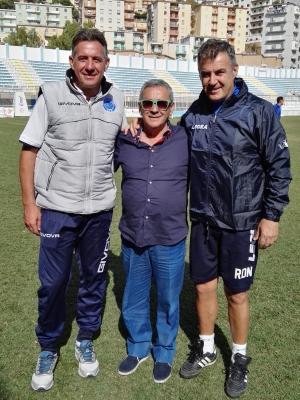 """Akragas, con la Parmonval buon allenamento. Il presidente Alessi: """"bravi ragazzi"""""""