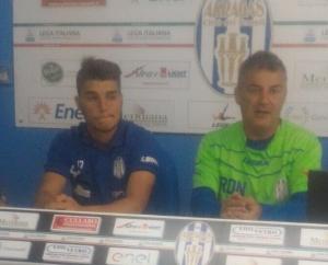 """""""Affezionatevi ai nostri ragazzi: non si risparmiano"""". Il tecnico dell'Akragas, Di Napoli, sprona tifosi e squadra"""
