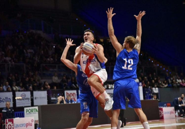 La Fortitudo Moncada cede nel finale a Biella.
