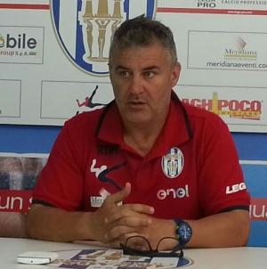 """Catania – Akragas; Di Napoli: """"soddisfatto della prova. Ma dobbiamo crescere"""""""