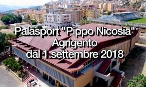 "Il palasport Nicosia di Agrigento ""rinasce""."