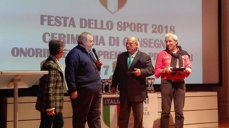Il Coni premia la Seap Aragona.