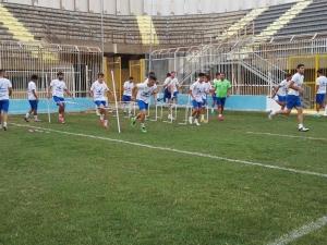 Akragas al lavoro per il derby col Catania